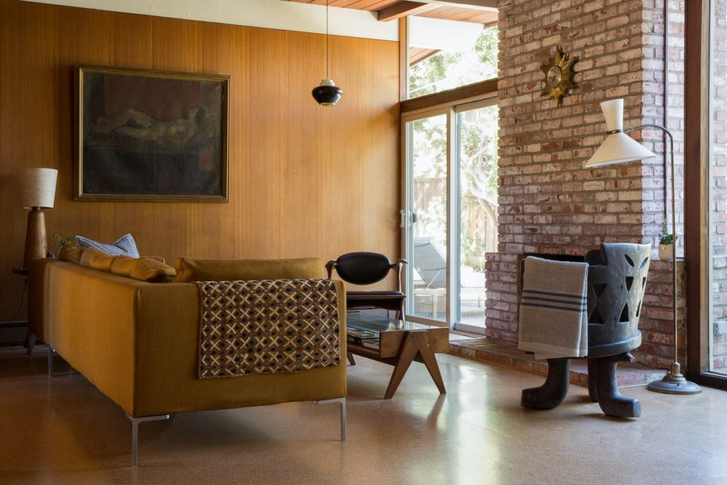 mid-century modern interior Tognini Bespoke Furniture